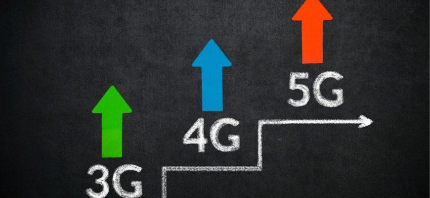 график поколений связи